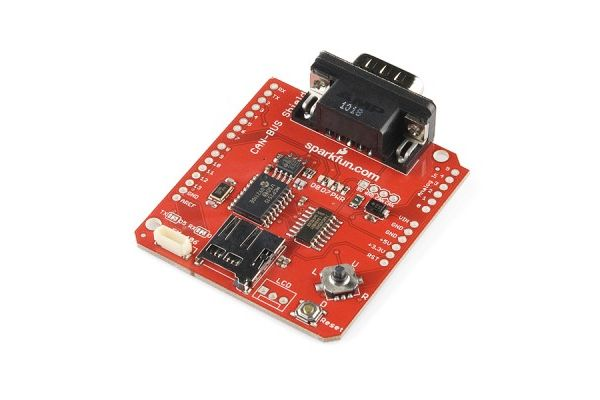 Amazoncom: Sparkfun CAN-BUS Shield for Arduino