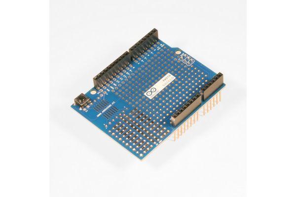 UNO Proto Shieldwith Breadboard Jump Wires