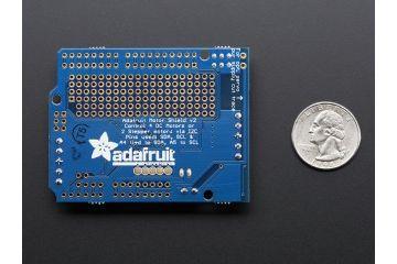 shields ADAFRUIT Adafruit Motor Stepper Servo Shield for Arduino v2 Kit - v2.3, Adafruit 1438