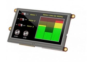 displays 4D SYSTEMS Display Modules 4.3 Pk Adptr Shld for Arduino, uLCD-43PT-AR