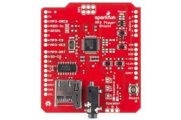 shields SPARKFUN SparkFun MP3 Player Shield, Sparkfun DEV-12660