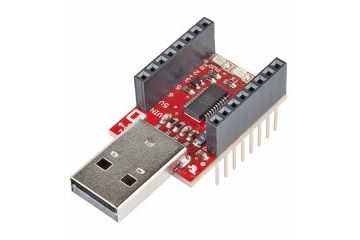 dodatki SPARKFUN SparkFun MicroView - USB Programmer, Sparkfun DEV-12924
