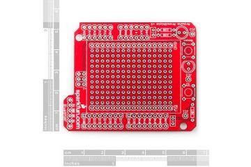shields SPARKFUN SparkFun ProtoShield Kit, Sparkfun DEV-07914
