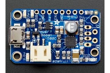 liion lipoly ADAFRUIT PowerBoost 500 Charger - Rechargeable 5V Lipo USB Boost 500mA+, Adafruit 1944