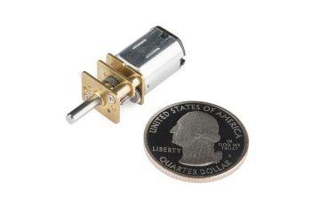 robotics SPARKFUN Micro Gearmotor - 900 RPM (6-12V), Sparkfun ROB-12316