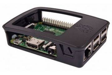 ohišja RASPBERRY PI Official Raspberry Pi 3 Model B, 2 B, B+ Development Board Case, Black, Grey, TZT 241 AAB-01