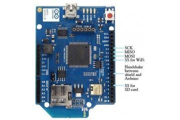 shields ARDUINO Arduino WiFi Shield (integrated antenna) - A000058