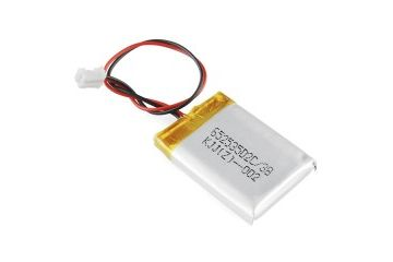 liion lipoly SPARKFUN Polymer Lithium Ion Battery - 400mAh, spark fun 10718
