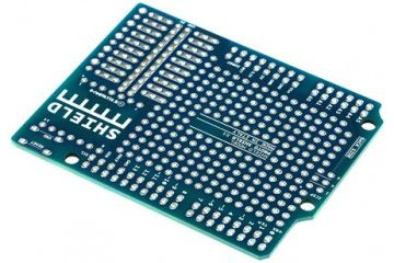 shields ARDUINO Proto shield extension for Arduino, Arduino A000082