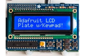 razvojni dodatki ADAFRUIT Blue&White 16x2 LCD+Keypad Kit for Raspberry Pi - Adafruit 1115