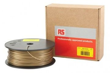 dodatki RS PRO 1.75mm 3D Printer Filament Gold, 300g PLA, 832-0434