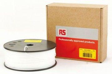dodatki RS PRO 1.75mm 3D Printer Filament Natural, 300g HiPS, 832-0554