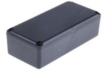 CAMDENBOSS Black ABS Potting Box with Lid, 67 x 32 x 20mm, Camdenboss, RX2KL07-S-5