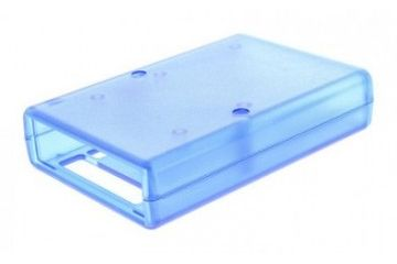 enclosures ARDUINO Arduino Due Development Board Case, Blue, Arduino, 1593HAMDUETBU