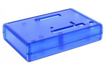 enclosures HAMMOND Arduino Uno Development Board Case, Blue, Hammond, 1593HAMUNOTBU