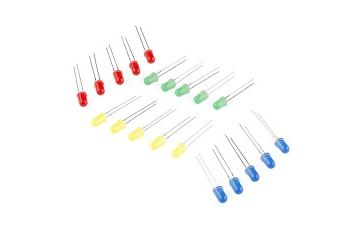 LEDs SPARKFUN LED - Assorted (20 pack), Sparkfun, COM-12062