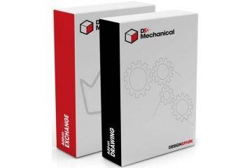 dodatki DESIGNSPARK Mechanical Exchange and Drawing Module Bundle, DesignSpark, 852-3019