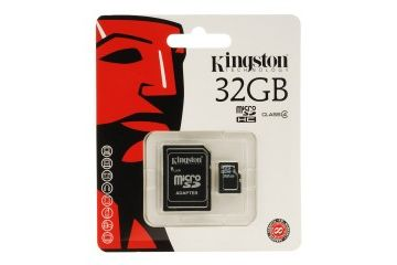 sd kartice KINGSTON 32 GB microSDHC Class 10, Flash Card W adapter, Kingston, SDC10G2-32GB