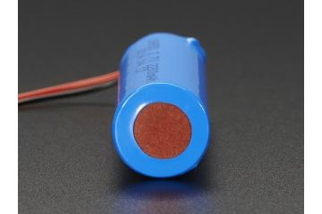 liion lipoly ADAFRUIT Lithium Ion Cylindrical Battery - 3.7v 2200mAh, Adafruit, 1781B