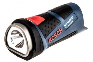 BOSCH Bosch 1 x 10.8 V Li-Ion, LED Torch Rechargeable, Blue, Bosch, GLI10,8V-LI