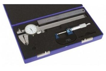 orodja RS PRO Metric & Imperial Dial Caliper, Micrometer, Rule Measuring Set, RS Pro, 841-2527