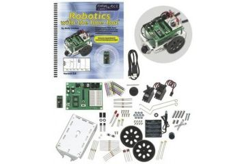 kompleti PARALLAX INC BASIC Stamp Boe-Bot mobile robot kit, Parallax Inc, 28832