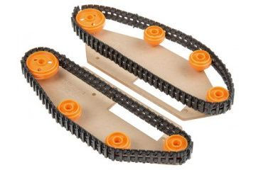 kompleti PARALLAX INC Tank-tread kit for Boe-Bot mobile robot, Parallax Inc, 28106