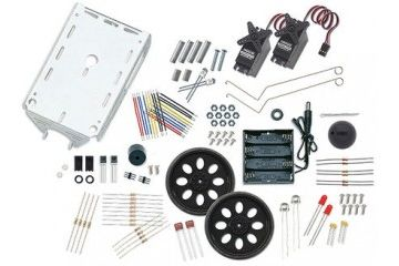 kompleti PARALLAX INC Boe-Bot Robot Chassis & Sensor kit, Parallax Inc, 28124