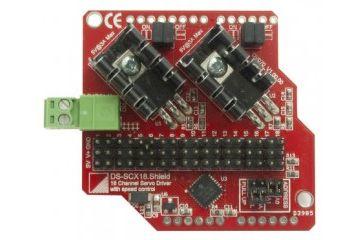 shields INTELLIGENT EMBEDDED SOLUTIONS Servo shield, 18-channel for Arduino, Intelligent Embedded Solutions, IES-SHIELD-SCX18