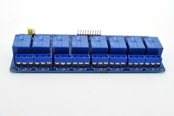 breakout boards  ADEEPT 5V 8 Channel Relay Module with Optocoupler, Adeept, ADM011