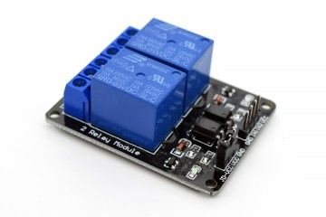 dodatki ADEEPT 5V 2 Channel Relay Module with Optocoupler, Adeept, ADM009
