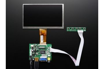 kabli ADAFRUIT 7 Inch Display no Touchscreen 1024x600- HDMI,VGA,NTSC,PAL, Adafruit, 2299