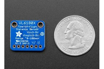 proximity ADAFRUIT Adafruit VL6180X Time of Flight Distance Ranging Sensor (VL6180) 3316