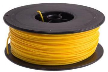 dodatki RS PRO 1.75mm Yellow PLA 3D Printer Filament, 300g, RS PRO, 832-0425