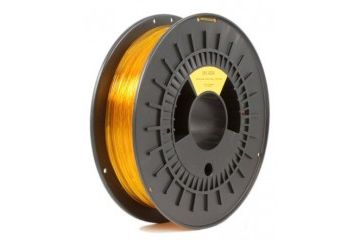 dodatki RS PRO 1.75mm Translucent Yellow PET-G 3D Printer Filament, 500g, RS PRO, 891-9299