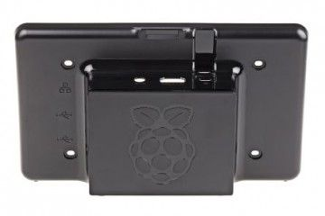 ohišja RS PRO Raspberry Pi LCD Touch Screen Case, Black, ASM-1900035-21