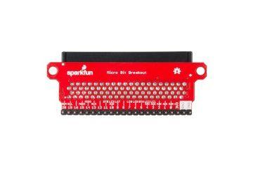 micro bit SPARKFUN SparkFun micro:bit Breakout (with Headers), Sparkfun BOB-13989