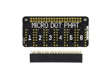 HATs PIMORONI pHAT only – Micro Dot pHAT, Pimoroni PIM182