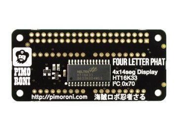 HATs PIMORONI Four Letter pHAT, Pimoroni PIM266
