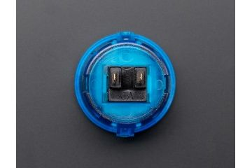 buttons and switches ADAFRUIT Arcade Button - 30mm Translucent Blue, Adafruit 476