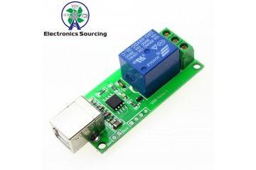 dodatki JH ELEC. 1 Way 5V Relay Module USB Control Switch, JH ELEC. YXA042