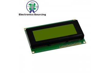 lcd-s JH ELEC. LCD2004 display screen 5V Green, JH ELEC. YXA457