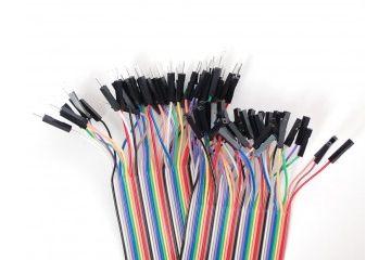 jumper wires ADAFRUIT Premium Female-Male Extension Jumper Wires - 40 x 3 (75mm) -  Adafruit 825