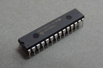 components MICROCHIP MICROCHIP - IC, IO EXPANDER, 16BIT, I2C, 28DIP - MCP23017-E SP
