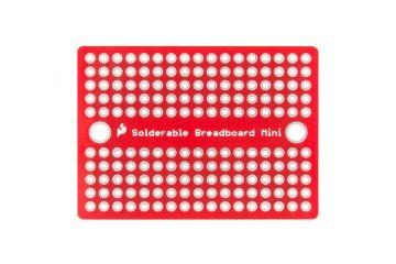 breadboardi SPARKFUN Solder-able Breadboard - Mini, SPARKFUN PRT-12702