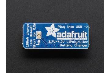 liion lipoly ADAFRUIT Adafruit Micro Lipo - USB LiIon-LiPoly charger, Adafruit 1304
