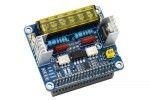 HATs WAVESHARE 2-CH Triac HAT for Raspberry Pi, Integrated MCU, UART - I2C, Waveshare 17852